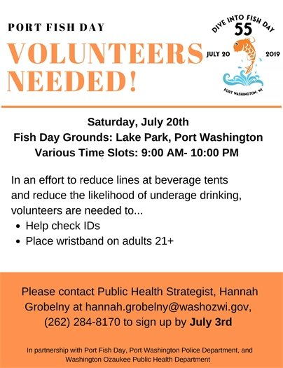 Fish Day Volunteers