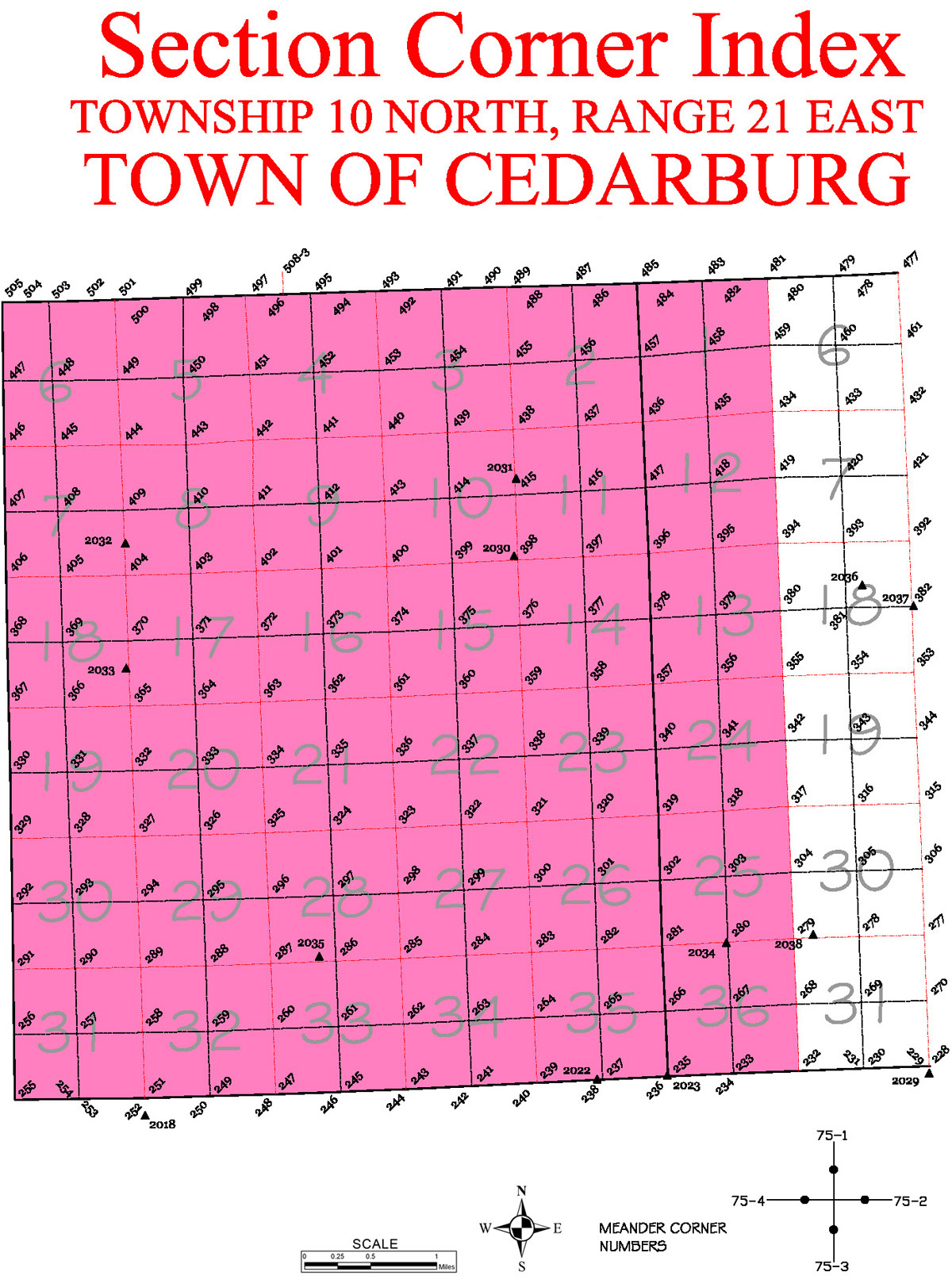 Cedarburg Map
