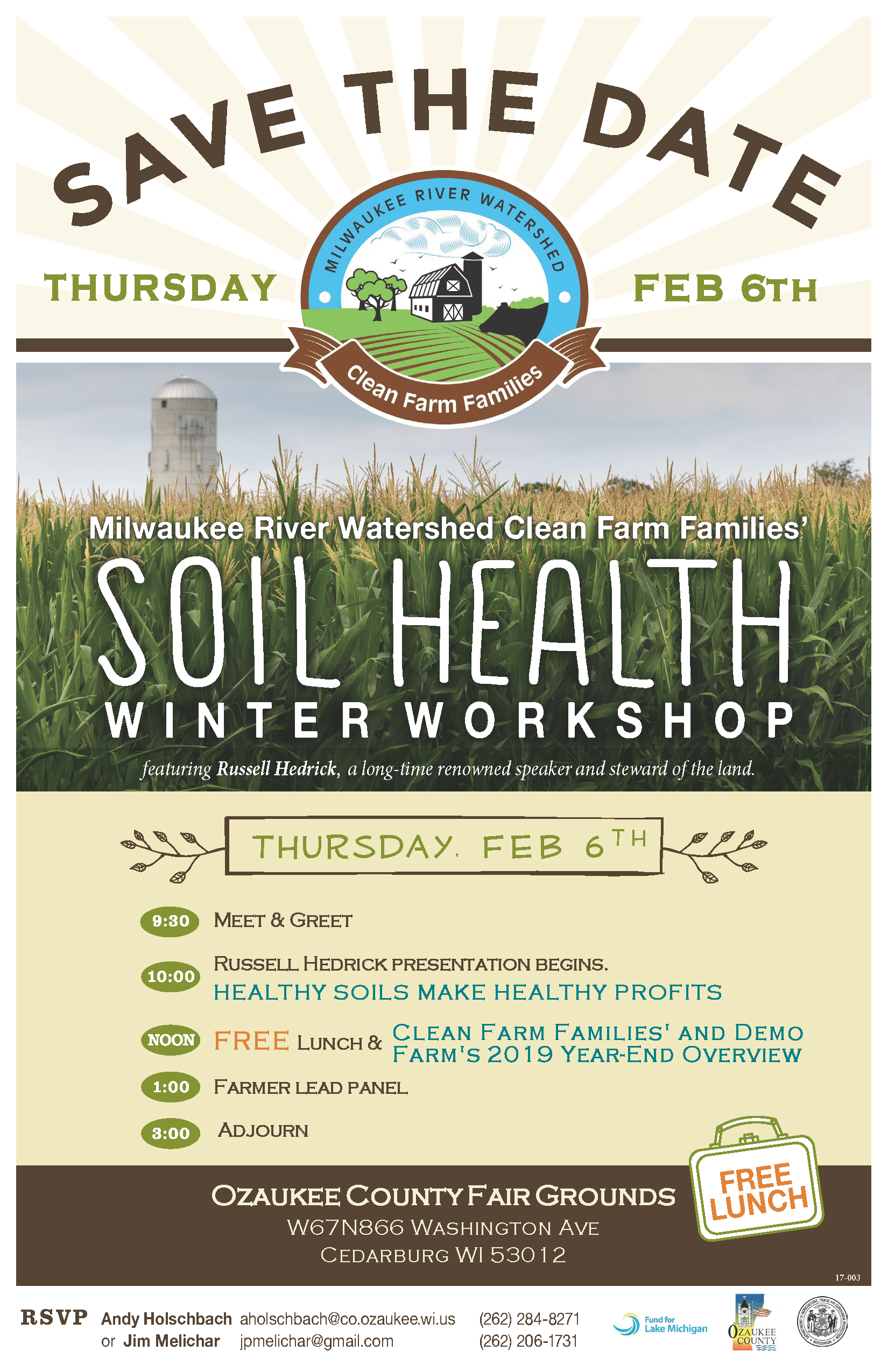 Soil Health Save the Date 2020