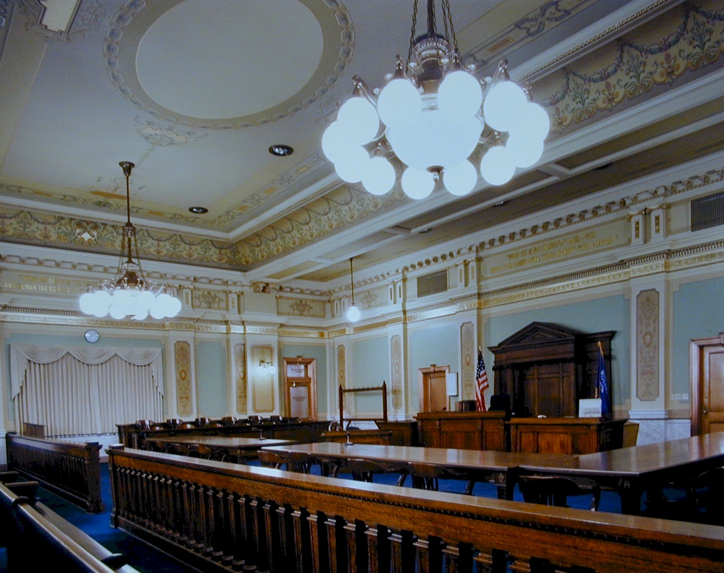 Court Room Empty