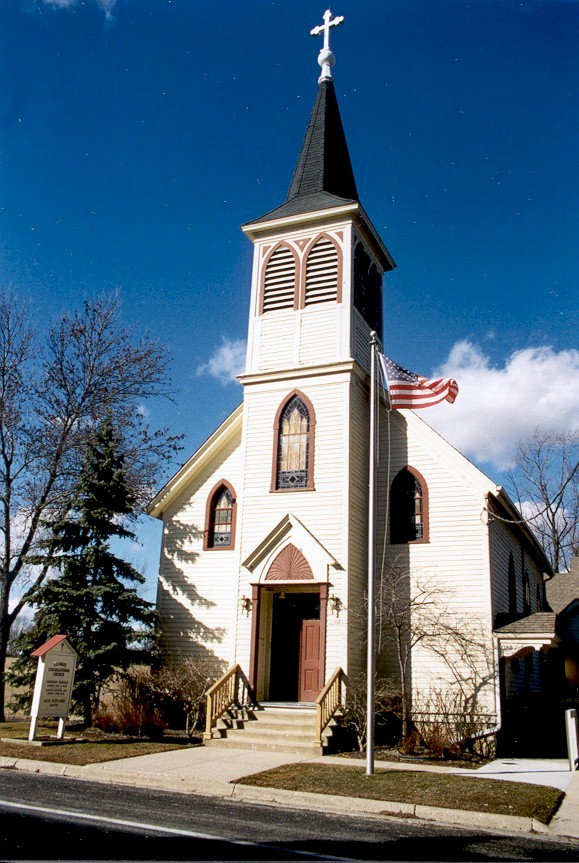 St John S Lutheran Church Lakefield Ozaukee County Wi