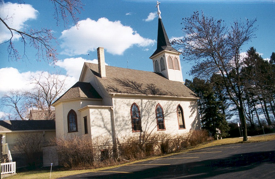 St. John's Lutheran Church back exterior