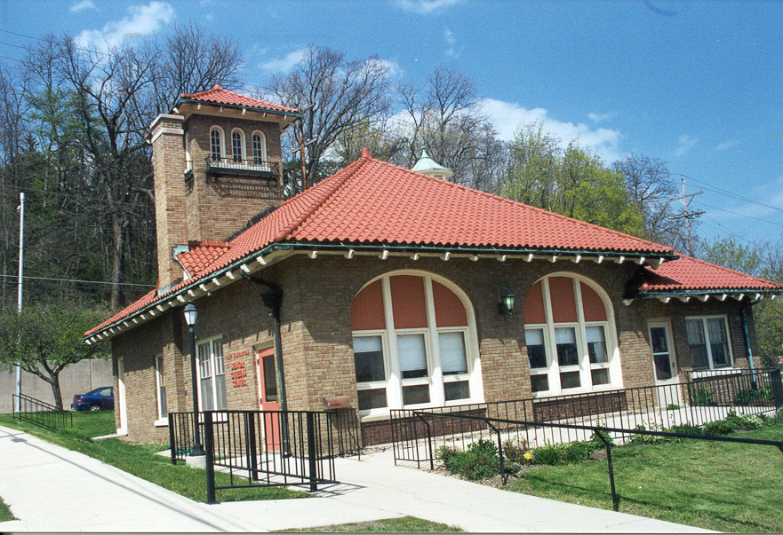 South view of the old Port Washington Fire Station.