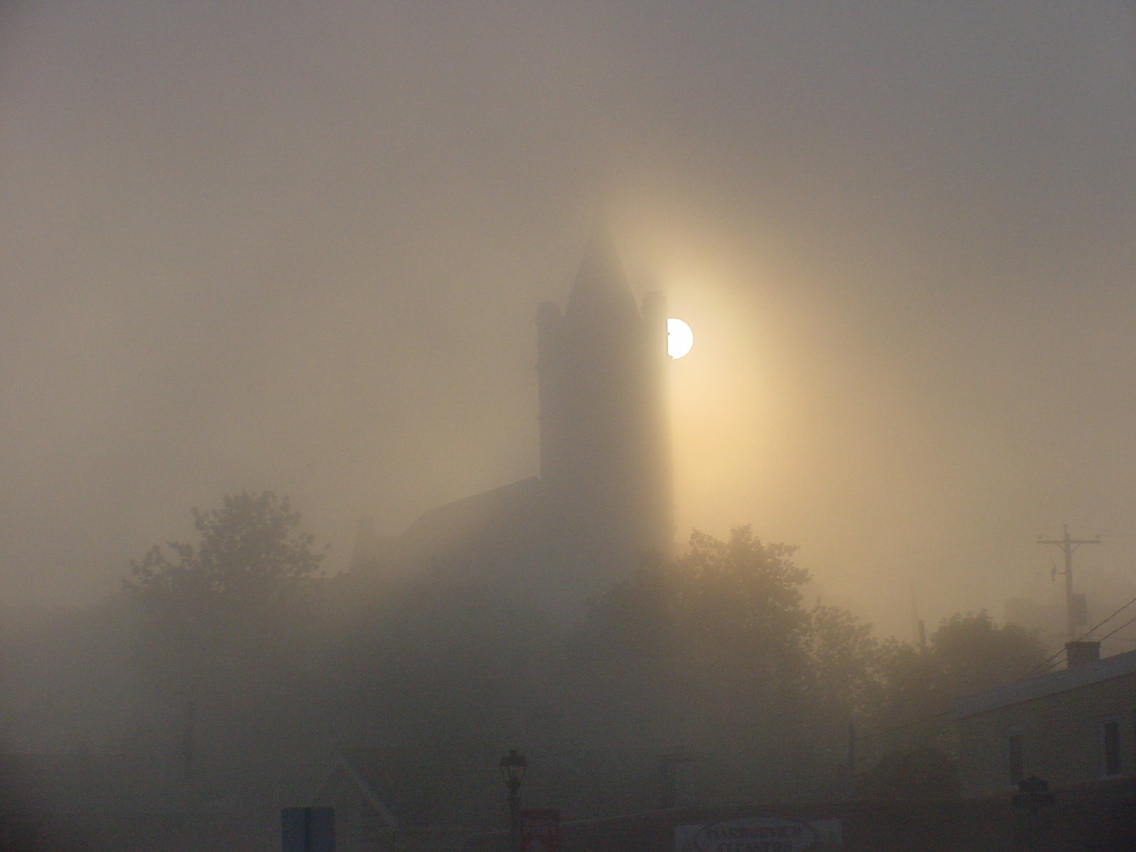 The Courthouse in the Fog