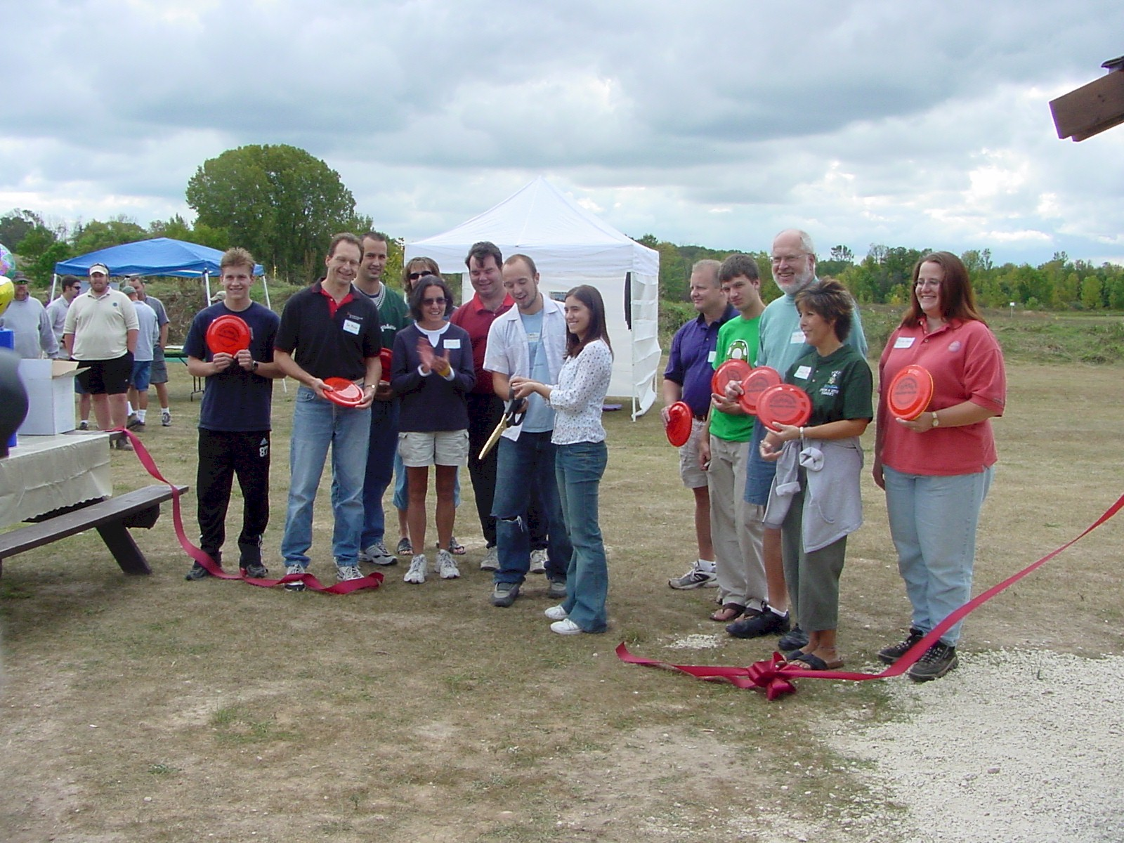 Tendick Park Disc Golf Course Dedication