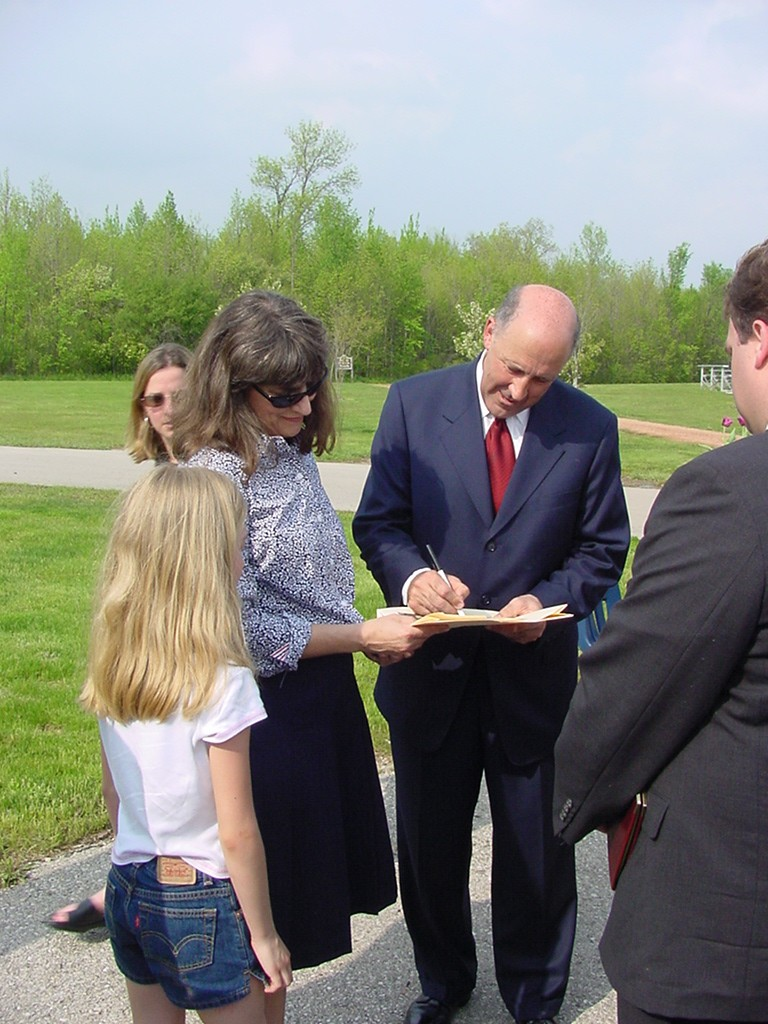 Governor Doyle Presents Stewardship Grants