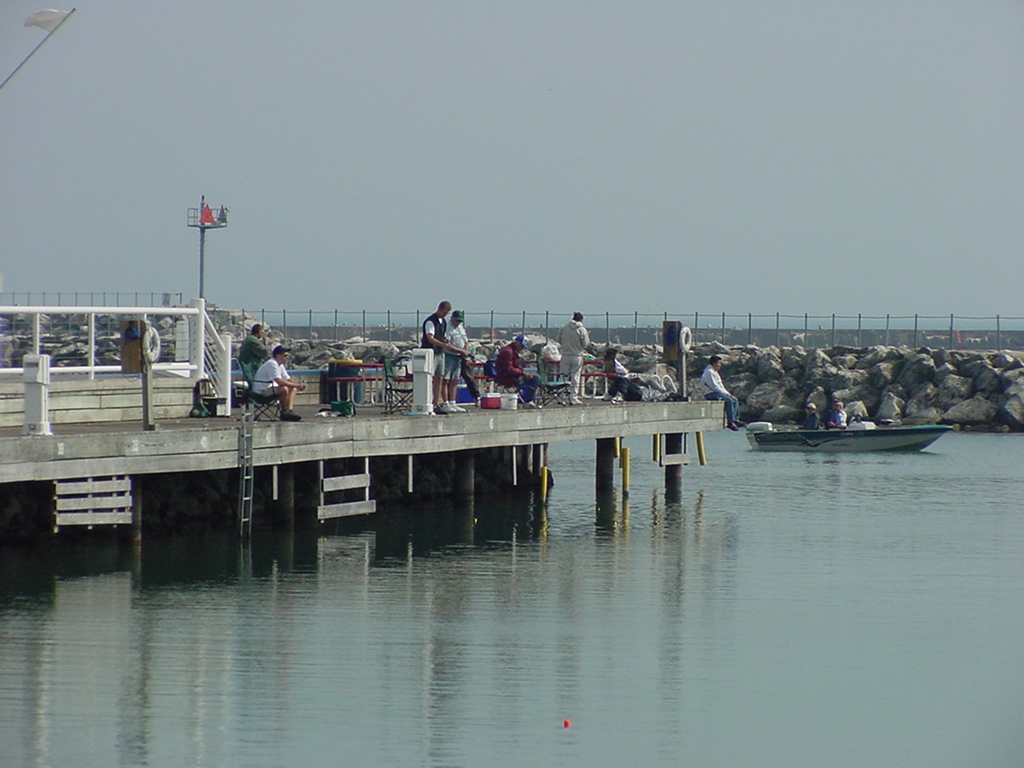 Fishing at Port Washington Marina
