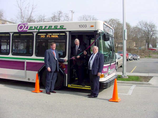 New Ozaukee County Transit Bus