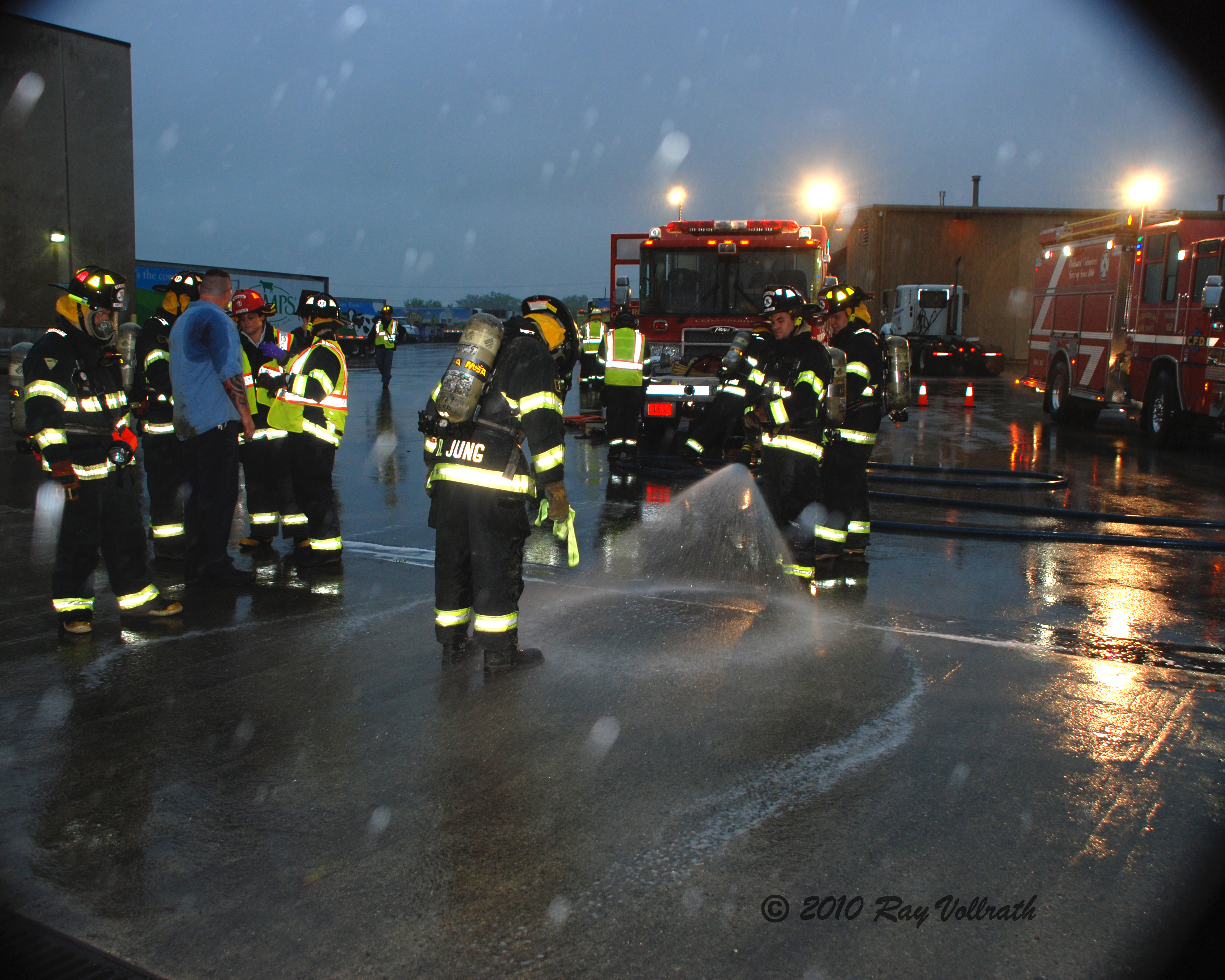 Firehose in Rain