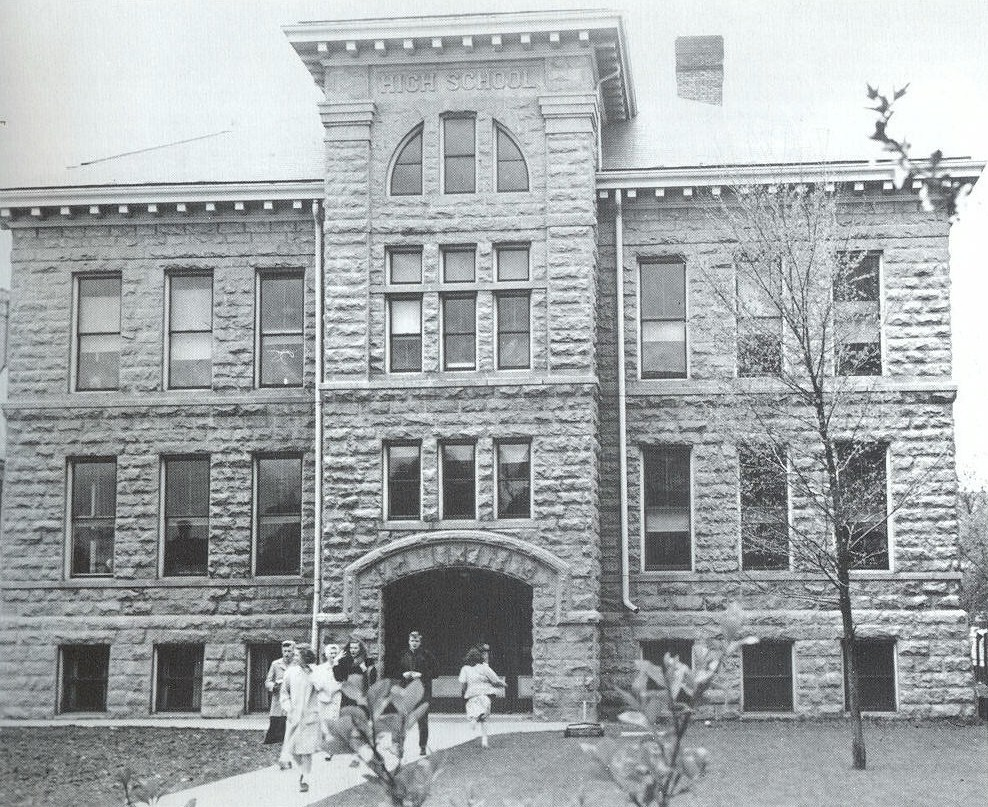 Before its renovation in 1987 to serve as Cedarburg's City Hall, this venerable limestone structure on Washington Avenue served generations of local students as Cedarburg High School.