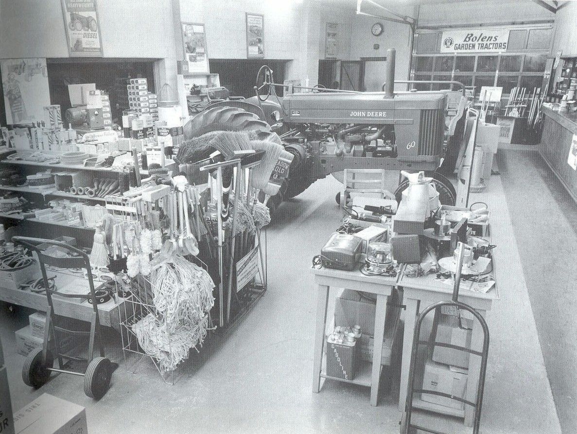 Interior shot of Wirth's Service Department.