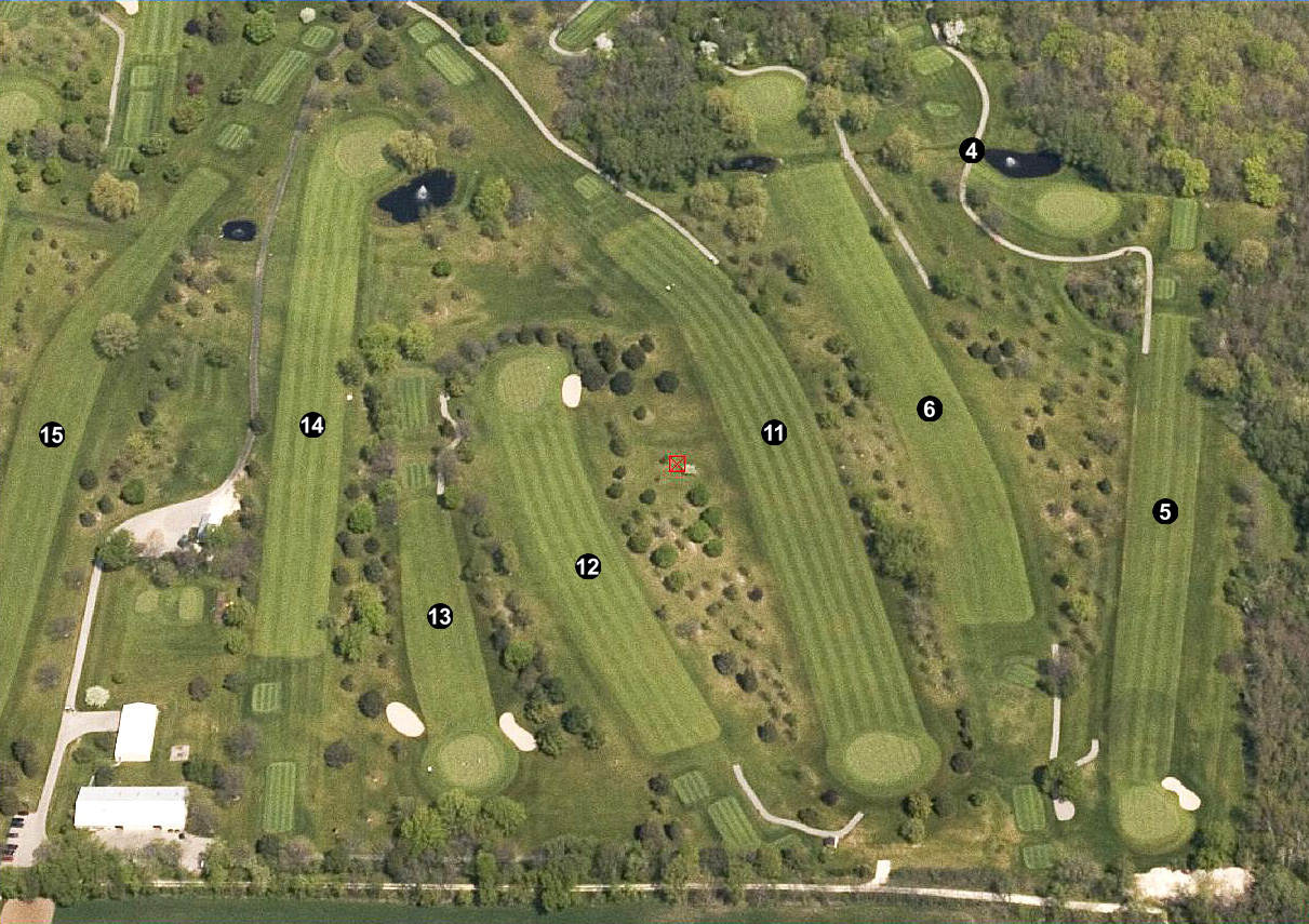 Hawthorne Golf Course Holes 004