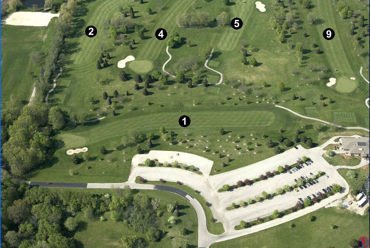 Mee-Kwon Golf Course Holes 001