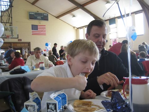 2009 Cedarburg Winterfest Pancake Breakfast