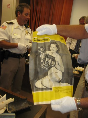 1955 Old Jail Time Capsule